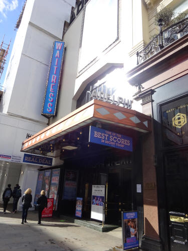 Adelphi Theatre, 410 & 411 Strand in March 2020