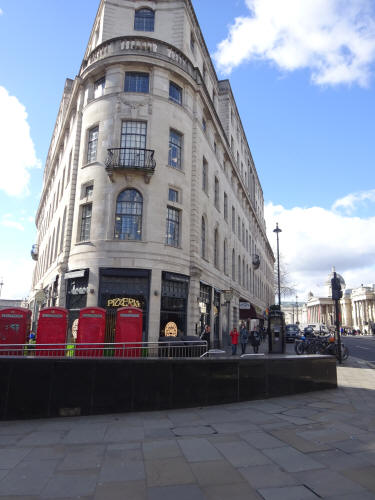 Pizza Express, 450 Strand & Duncannon street was J Lyons, 450 Strand in 1921